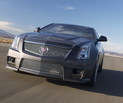 2011 Cadillac CTS-V Coupe.
