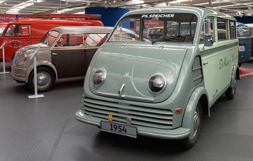 70 Jahre Bulli-Republik: DKW Schnelllaster F 89 L (1954).
