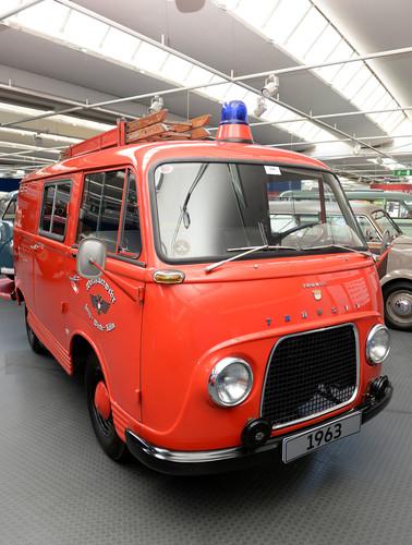 70 Jahre Bulli-Republik: Ford Taunus Transit FK 1250 Feuerwehr (1963).