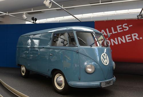 70 Jahre Bulli-Republik: T1 Bulli aus der Vorserie (1949).