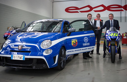 "Abarth 695 Biposto ""Yamaha Factory Racing Edition""."