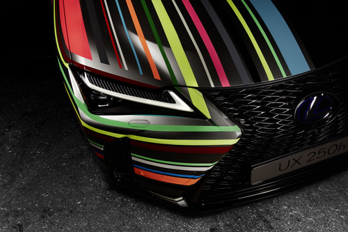 Art-Car Lexus UX by René Turrek.