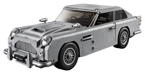 "Aston Martin DB 5 von Lego aus dem James-Bond-Film ""Goldfinger""."