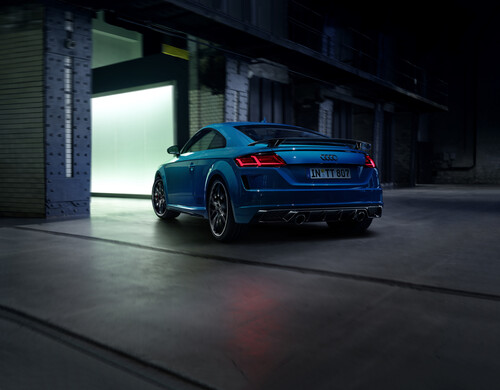 Audi TT Competition Plus.