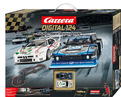"Bahnpackung ""Youngtimer Showdown"" von Carrera Digital 124."