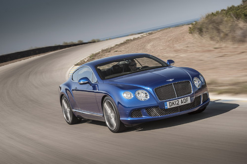 Bentley Continental GT Speed.