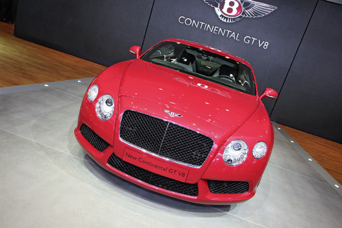 Bentley Continental V8 Biturbo.