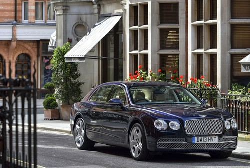 Bentley Flying Spur.