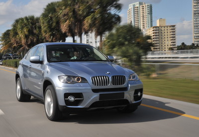 BMW Activehybrid X6.