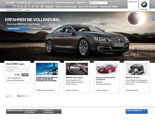 Bmw Hat Neuen Internetauftritt Auto Medienportal Net