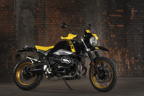 "BMW R Nine T ""Edition 40 Years GS""."