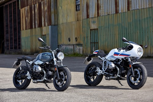 BMW R Nine T Pure und R Nine T Racer.