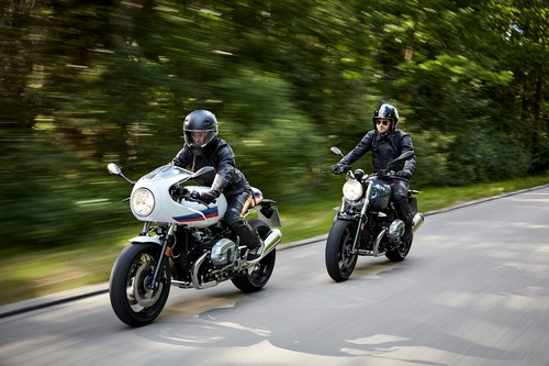 BMW R Nine T Racer und R Nine T Pure.