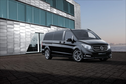 Brabus Business Lounge für die Mercedes-Benz V-Klasse.