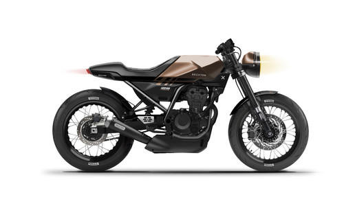 Brixton Crossfire 125 WC.