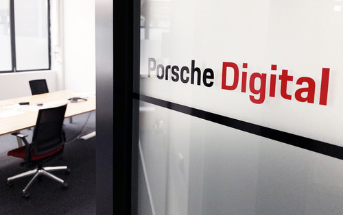 Büro von Porsche-Digital in Barcelona.