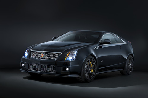 Cadillac CTS-V Black Edition.