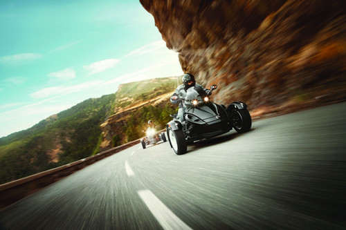 Can-Am Spyder Roadster RS.