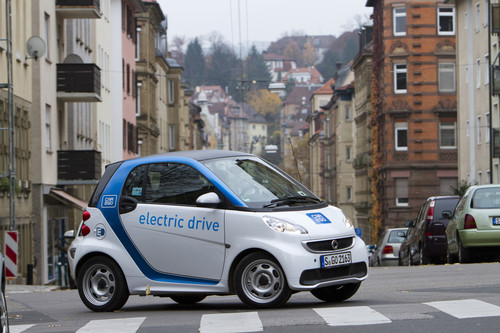Car2go in Stuttgart.