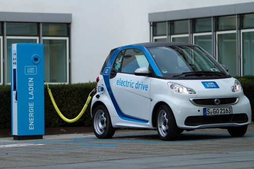 Car2go startet in Stuttgart.