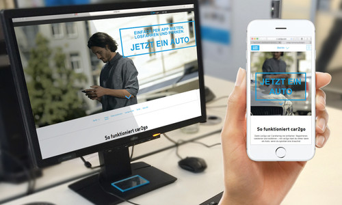Car2go-Website.