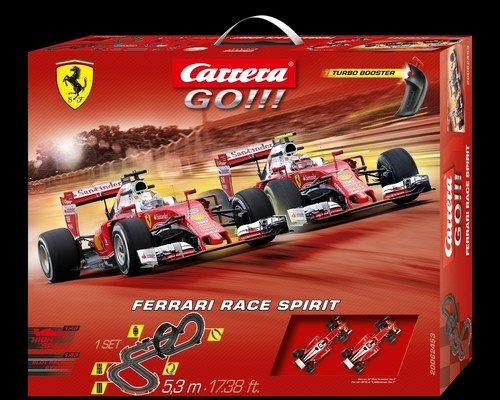 "Carrera-Go-Set ""Ferrari Race Spirit""."