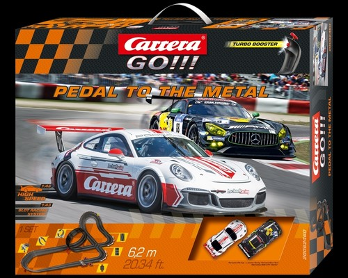 "Carrera-Go-Set  ""Pedal to the Metal""."