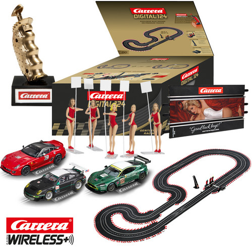 "Carrera-Partyset ""Gentleman Racing""."