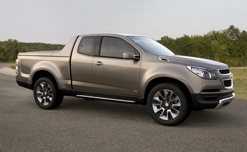 Chevrolet Pick-up-Studie Colorado.