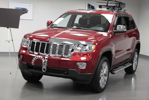 Chrysler Group auf der SEMA 2012: Jeep Grand Cherokee Half&Half.
