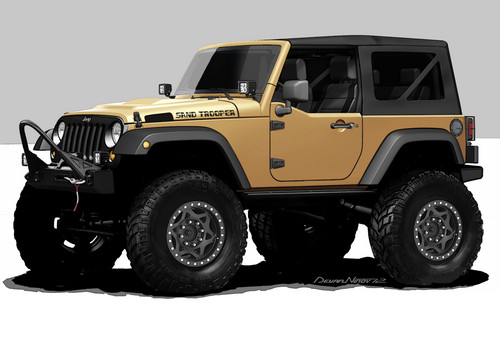 Chrysler Group auf der SEMA 2012: Jeep Sand Trooper-