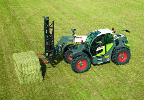 Claas Scorpion 7050.
