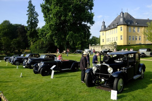Classic Days Schloss Dyck 2015: Jewels in the Park.