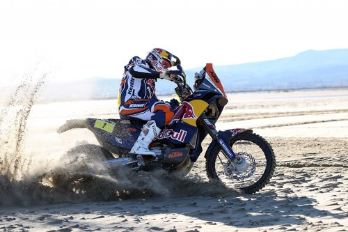 Cyril Despres auf KTM 450 Rally.