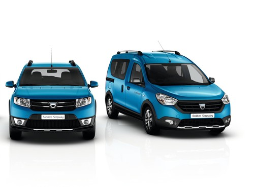 Dacia Dokker Stepway (links) und Dacia Lodgy Stepway.