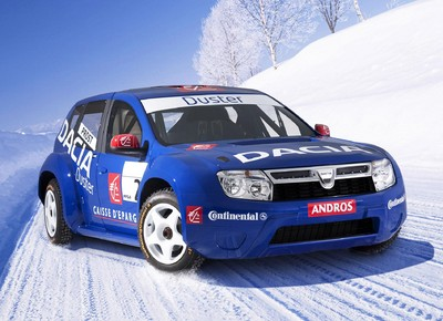 Dacia Duster in der Rennversion der Trophée Andros.