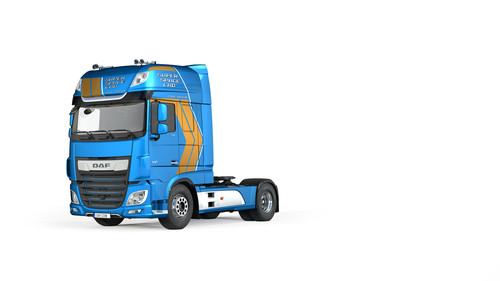 DAF XF Super Space Cab Celebration Edition.