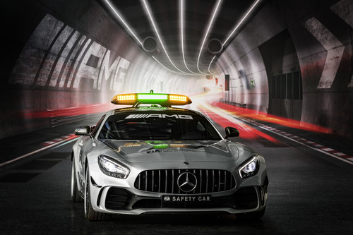 Das Safety Car der Formel 1: Mercedes-Benz AMG GT.