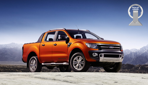 "Der Ford Ranger erhielt den ""International Pick-Up Award 2013""."