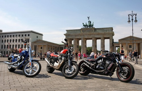 Die Harley-Days in Berlin fallen aus.