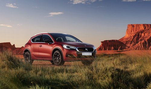DS 4 Crossback Terre Rouge.
