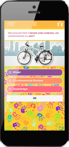 "DVR-App ""German Road Safety""."