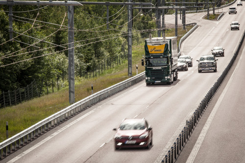 E-Highway in Schweden.