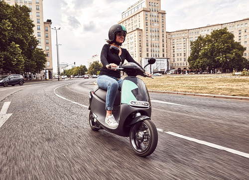 E-Scooter-Sharing Coup von Bosch.