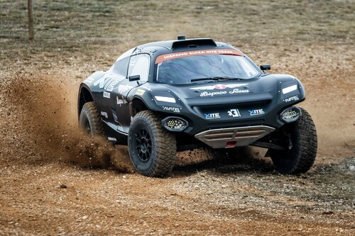 Extreme-E-Buggy Odyssey 21 des Teams Hispano Suiza Xite Energy.