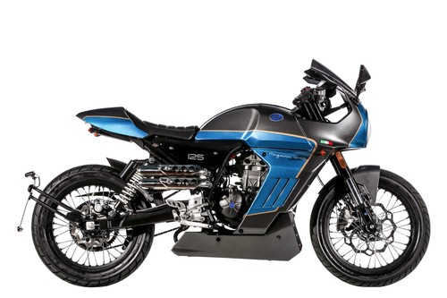 F.B Mondial Sport Classic 125i ABS.