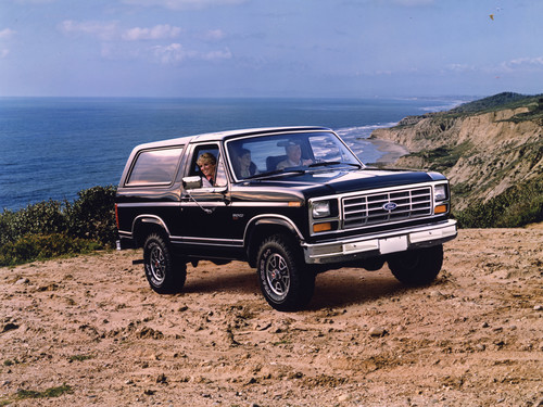 Ford Bronco, dritte Generation, 1983.