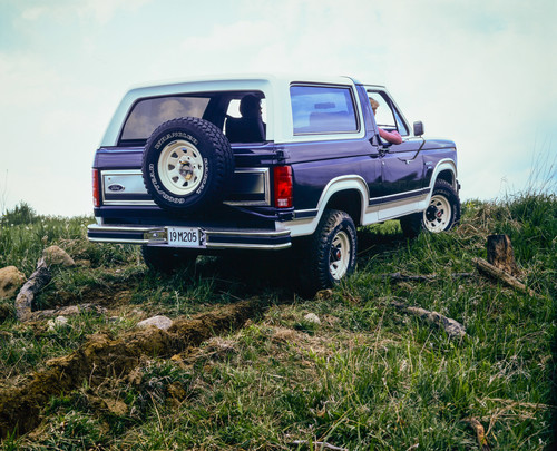 Ford Bronco, dritte Generation, 1984.