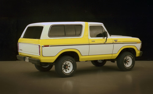 Ford Bronco, zweite Generation, Preproduction 1978.