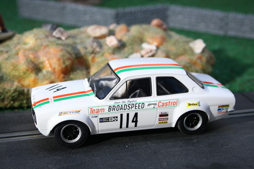 Ford Escort Brands Hatch 1971 von Scalextric.